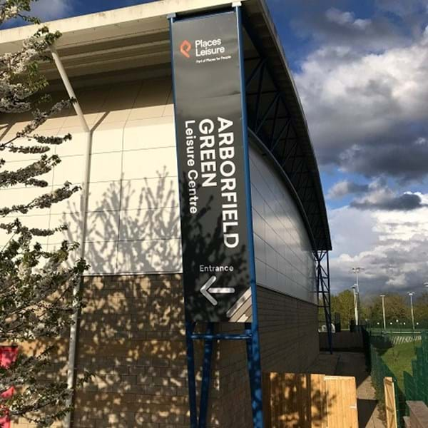 Arborfield Green Leisure Centre exterior