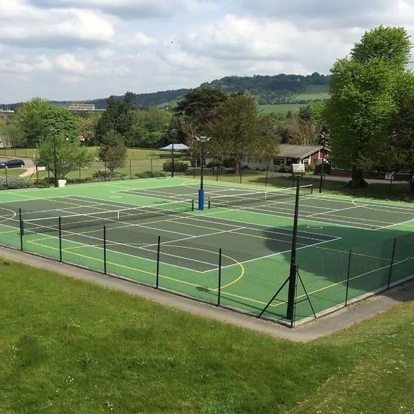 Dorking Sports Centre tennis court