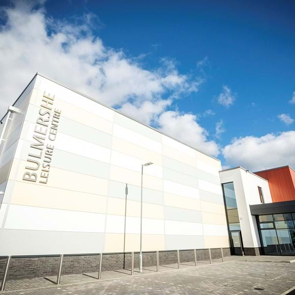 Bulmershe Leisure Centre exterior