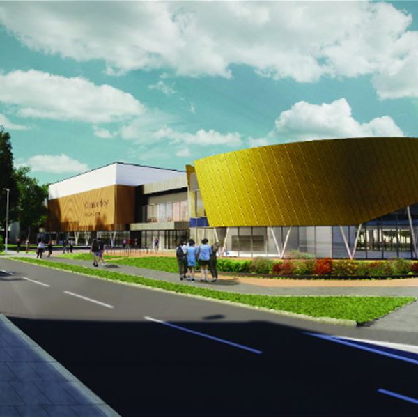 Places Leisure Centre Camberley drawing